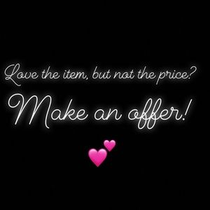 Other - Love the item but not the price?💕